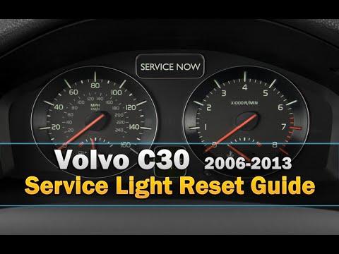 Volvo C30 Service Light Reset