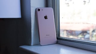 видео Apple iPhone 7 128Gb Rose Gold