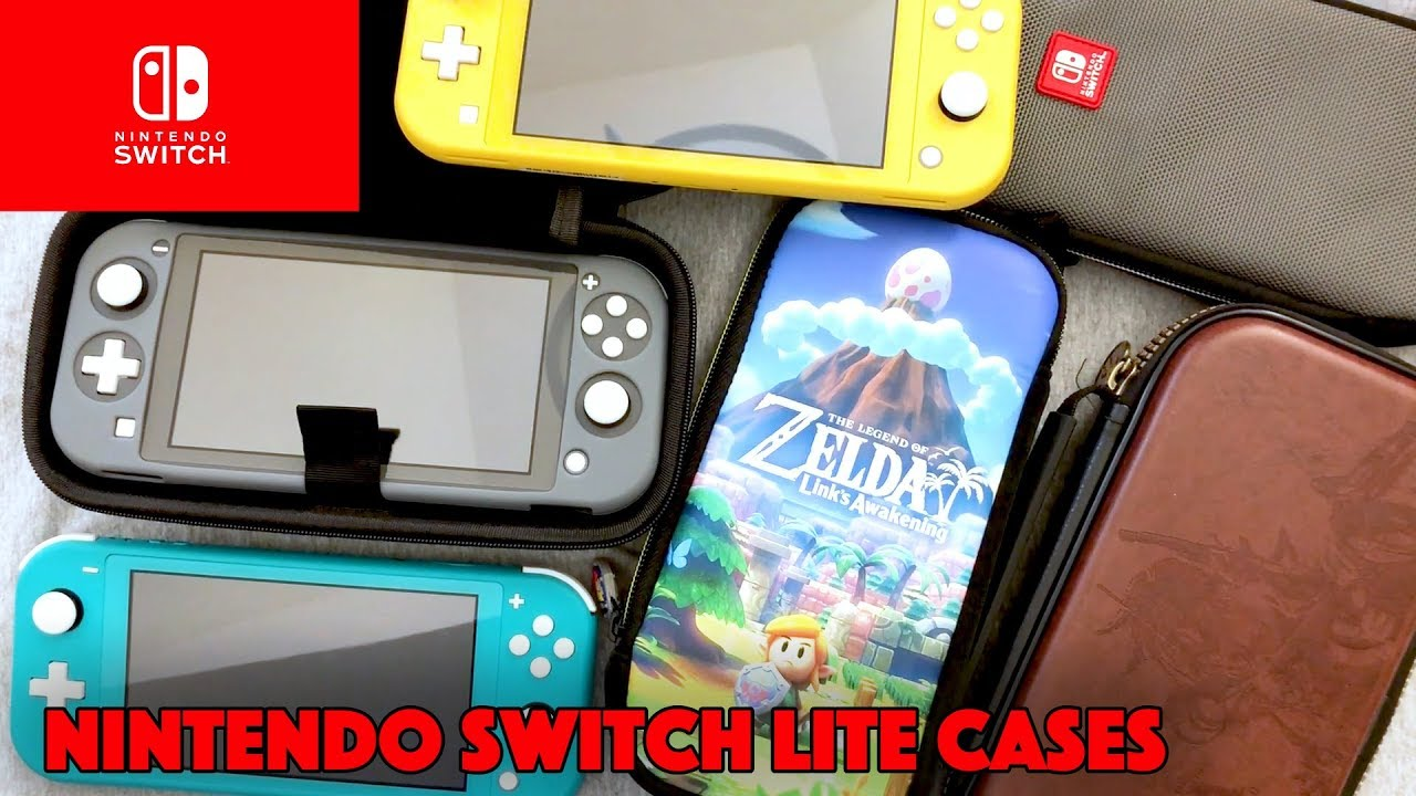 Unboxing Nintendo Switch Lite Cases Slim Travel Case Insignia Ultimate Protection Kit