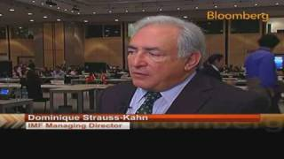 Strauss-Kahn Says `Too Early' to Implement Exit Strategy: Video