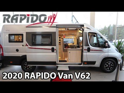 RAPIDO Van V62 2020 Camper Van 6,36 M