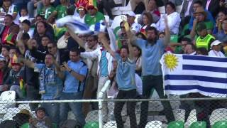 Fecha 1 - Bolivia 0:2 Uruguay
