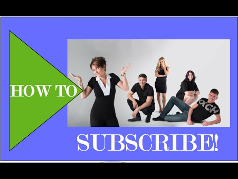 how to SUBSCRIBE to Robeson Design's Channel