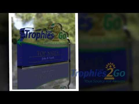 Custom Acrylic Awards featuring your logo - Trophies2Go Video Jeff Anderson