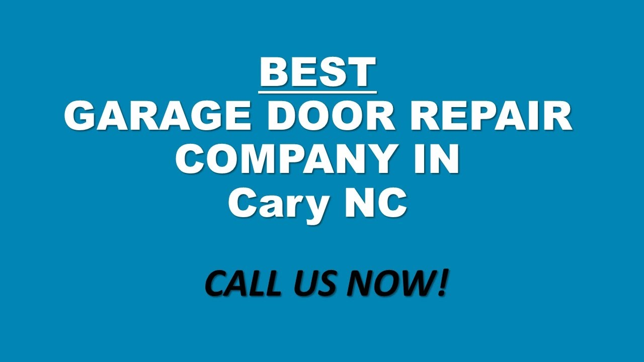 CALL (919) 372 3977| Best Rated Emergency Garage Door Repair Company Cary NC