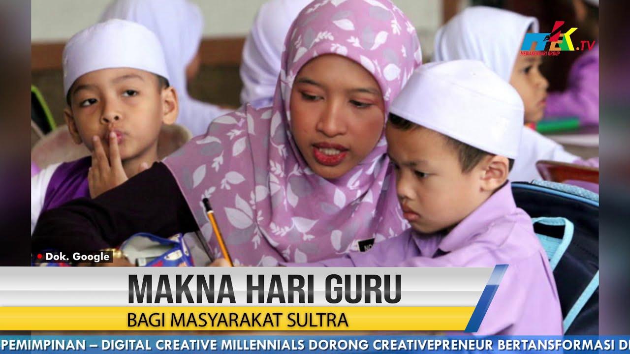 Makna Hari Guru Bagi Masyarakat Sultra