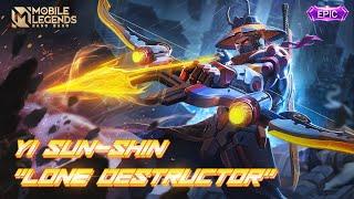 Yi Sun Shin New Epic Skin Lone Destructor Mobile Legends Bang Bang Youtube