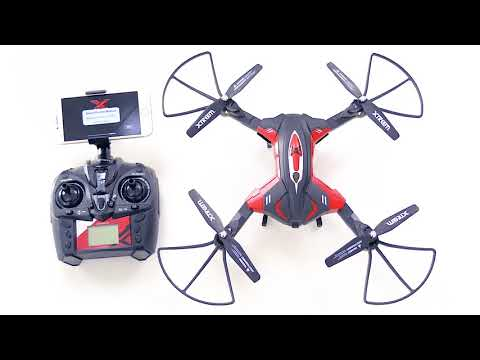 Xtreem Mosca Drone Unboxing & Features Review: 720p HD Video WiFi, App Control & Foldable Arms