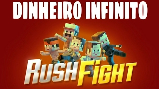 RUSH FIGHT APK MODIFICADO COM DINHEIRO INFINITO!!