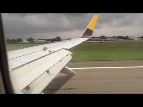 05.07.2017(Atterrissage à Lomé Asky Airlines)