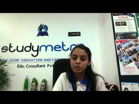 Meet with Ms Neha Education Counsellor of Study Metro