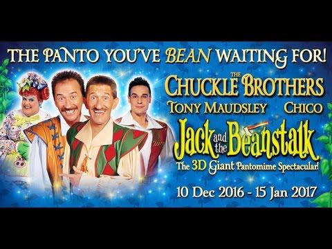 BEST Panto Nottingham   Dame Tony Maudsley Benidorm  Chuckle Brothers  Daniel Boys  Chico