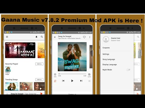 Gaana Music v7 8 2 Premium Mod APK is Here ! - YouTube