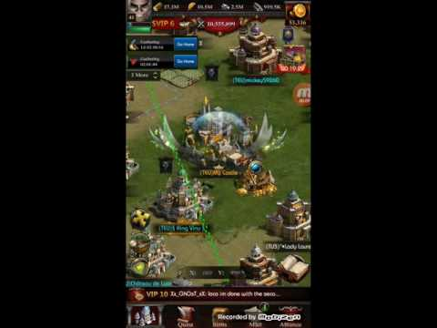 Clash Of Kings - Farming.. Quick RSS Resources Tips