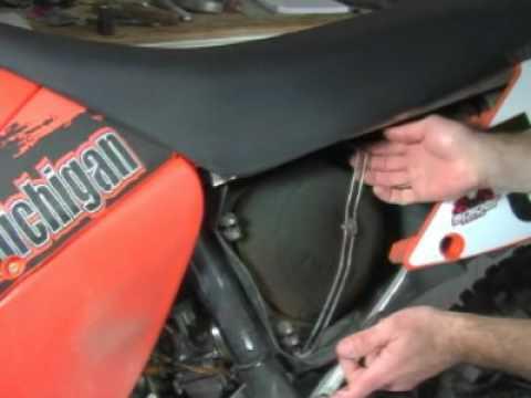Clean Air Filter >> KTM Airbox Tip - YouTube