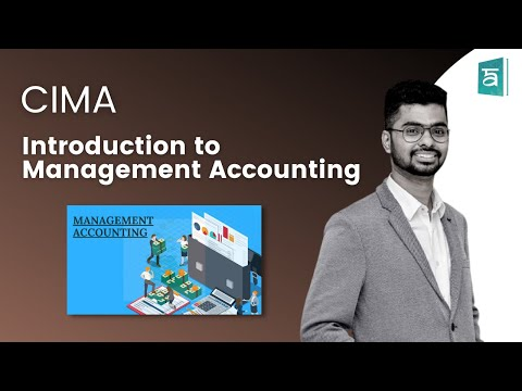 Introduction To Management Accounting - CIMA BA2