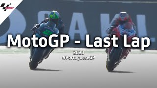 Another morbidelli vs miller last lap thriller? oh go on then 🤝sit back and enjoy the few laps of season finale in portimao!#motogp #portuguesegp ?...