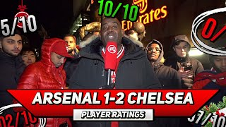 Arsenal 1-2 Chelsea Player Ratings | A Good Performance But Still An L