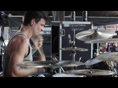 The Color Morale - Walls [Steve Carey] Drum Video Live [HD]
