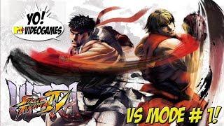 Ultra Street Fighter IV! Vs. Mode Part 1 - YoVideogames