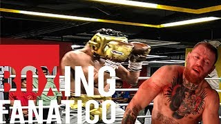 Report: Conor McGregor gets KNOCKED OUT in sparring!! Leading up to the Mayweather fight