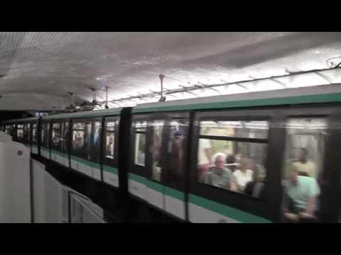 The Paris Metro, Paris, France, 18th October, 2014