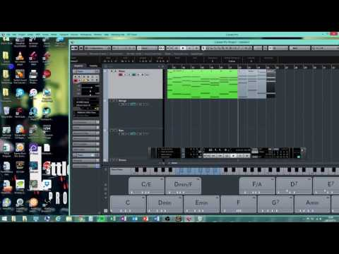 01 - Composing On Cubase - Chords, Instruments and Structure