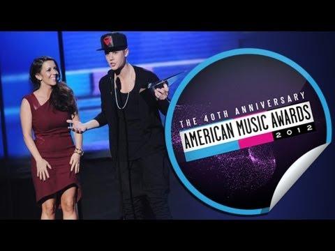 American Music Awards: Justin Bieber Gran Ganador...Con Su Mama