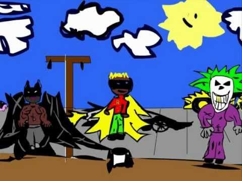 Batman y Robin contra el guason, por los chicos te...