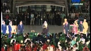 Serah Terima Tuan Rumah Closing Ceremony Asian Games 2014 LIVE TVRI