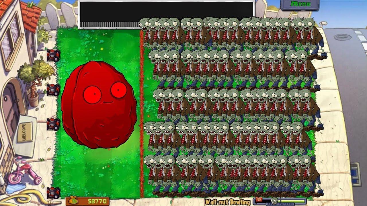 [#7] Trận Chiến Wall-nut Bowling Siêu Khó – Mini Game Trong Plants Vs Zombies