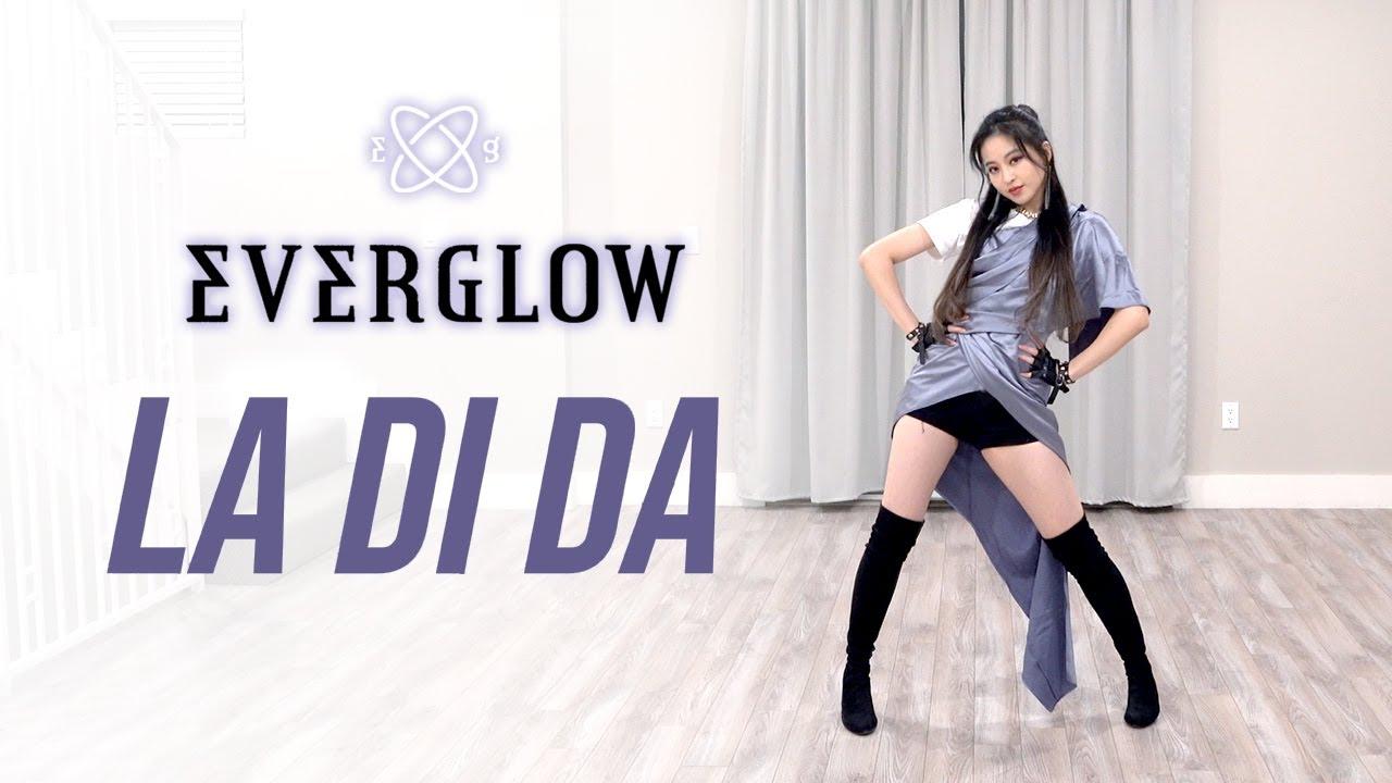 Download EVERGLOW (에버글로우) - 'LA DI DA' Dance Cover   Ellen and Brian
