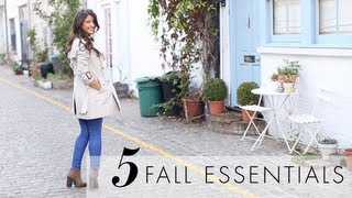 Five (5) Fall Essentials Thumbnail