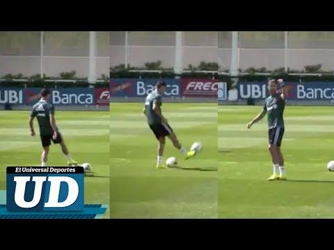 La espectacular canasta de Cristiano Ronaldo