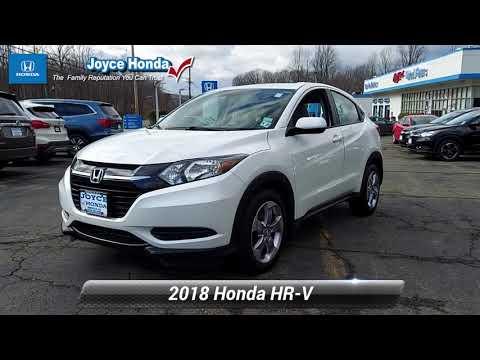Certified 2018 Honda HR-V LX, Denville, NJ P01460B