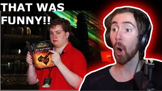 "[ASMONGOLD REACTS] to ""Part 2 World of Warcraft's Most Famous & Infamous Players"""