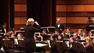 """... and the mountains rising nowhere"" by Joseph Schwantner [CSU Wind Symphony]"