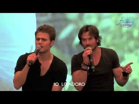 Love and Blood Itacon 3D Ian Somerhalder Paul Wesley