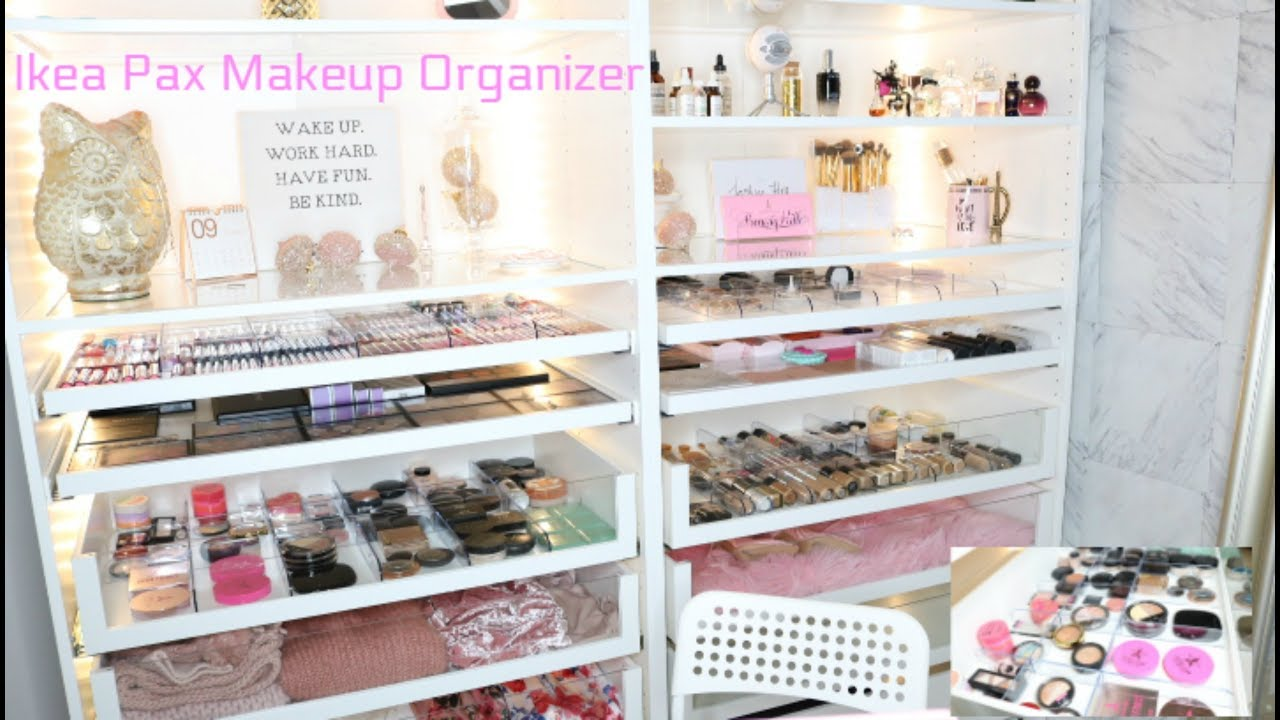 Ikea Pax Makeup Organizer Ester Castillo YouTube
