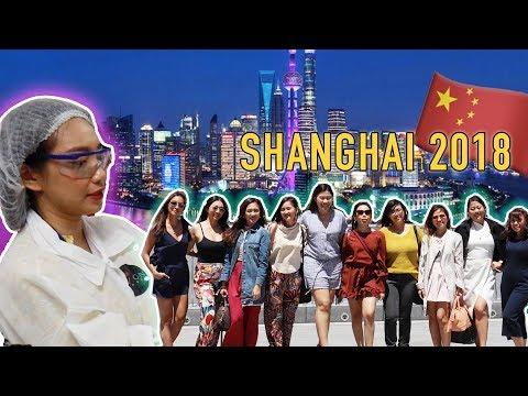 INSIDE A MAKEUP LAB! Shanghai China 2018 EP. 1 | Raiza Contawi