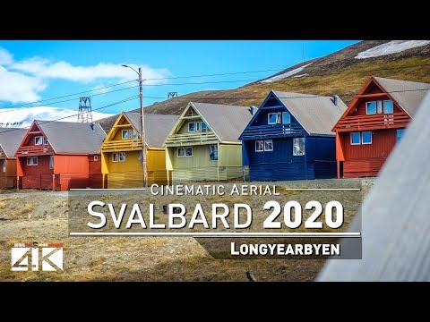 【4K】Drone Footage | Longyearbyen - SVALBARD AND JAN MAYEN 20