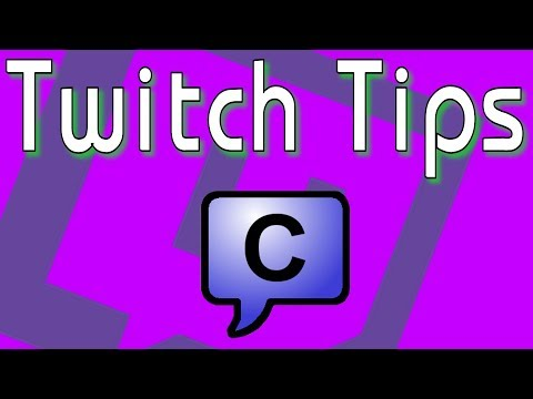 Twitch Tips: Chatty