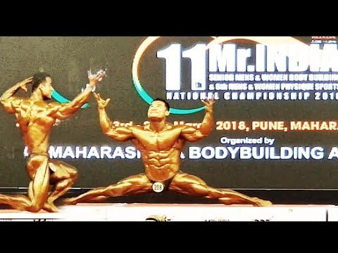 Mr India 2018 IBBF | best poser| winner 50000 | best ever dance posing