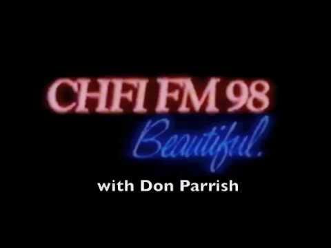 CHFI FM 981 Beautiful   early 1980s Toronto Radio Call Sign