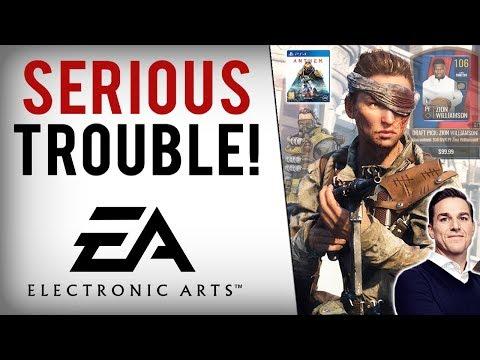 EA Stock Plummets, Loses $3.6 Billion In Value With Anthem, Battlefield V & Apex Legends Struggling!