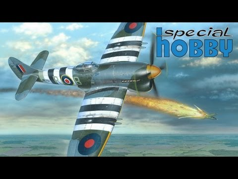 FULL VIDEO BUILD HAWKER TEMPEST Mk.V by Special Hobby