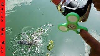FIDGET SPINNER Fishing Challenge Bloopers