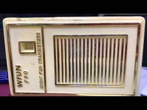 WFUN / SOUTH MIAMI - 1961 News Close With Brit Huey