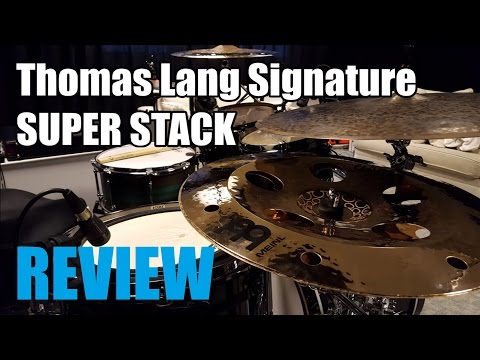 """Meinl Thomas Lang 18"""" Super Stack - Review/Demo"""