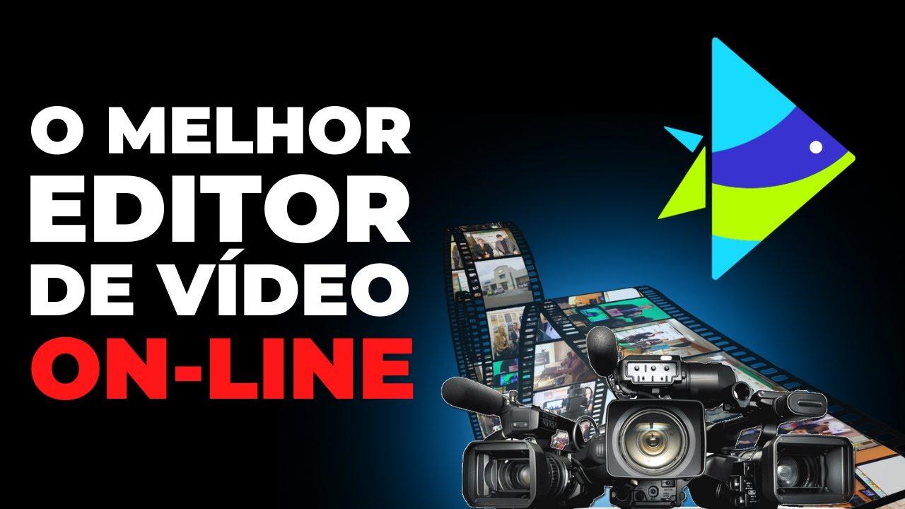 O MELHOR EDITOR DE VÍDEO PARA PC (ON-LINE) - 2021